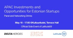APAC Investments and opportunities for Estonian startups