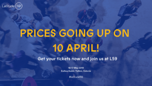 Prices are going up on 10 April!